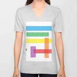 Crayola Pattern Unisex V-Neck