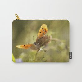 Morning impression with orange butterfly Carry-All Pouch