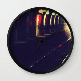 Do not walk into the light Wall Clock