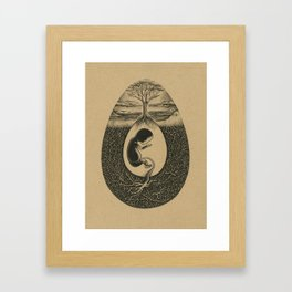 Natural Birth Framed Art Print
