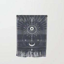 Le Soleil or The Sun Tarot Wall Hanging