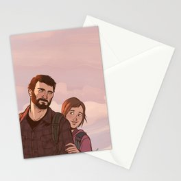 Joel and Ellie Stationery Cards