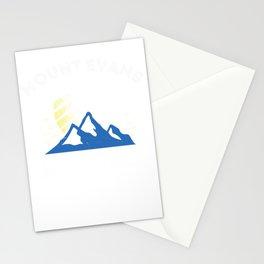 Mount Evans Adventure Awaits Mountain Climbing Colorado  Stationery Cards