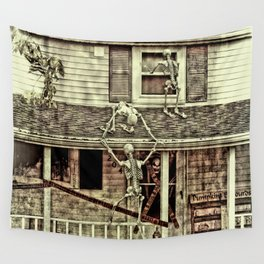 Don't Open The Window! Wall Tapestry