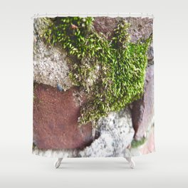 Moss the Sewer  Shower Curtain