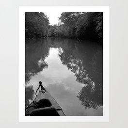 """""""Saluda River"""" Art Print"""
