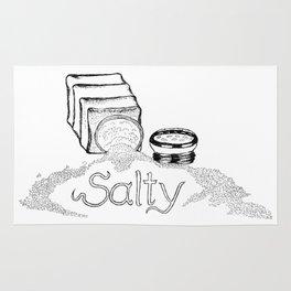 Salty - This Salt Shaker is Wide Open - Comic Rug