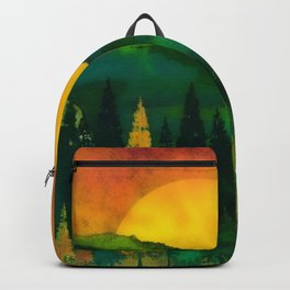 Sunrise Forest Backpack