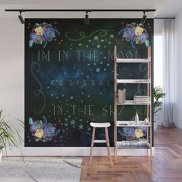 Dissolve in the sky Wall Mural