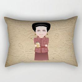 Kokeshi Simone de Beauvoir Rectangular Pillow
