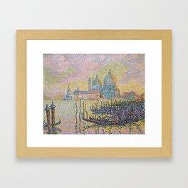 Grand Canal (Venice), Paul Signac, 1905 Framed Art Print