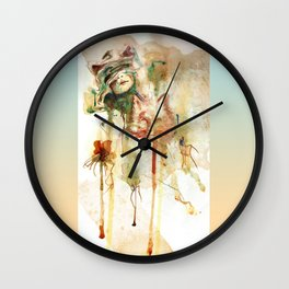 Kitsuné Wall Clock