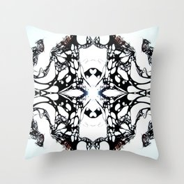 Carbon Essence Collider 12 Throw Pillow