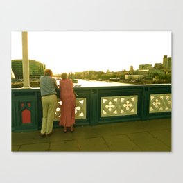 London Lovers Canvas Print