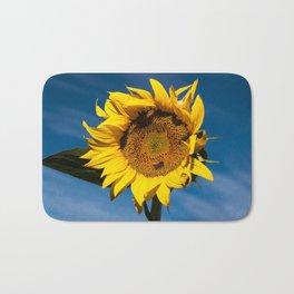 Sunflower in LOVE Bath Mat