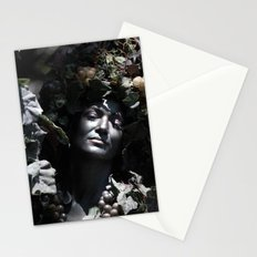 Wood Woman Stationery Cards