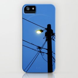 At First (street) Light iPhone Case