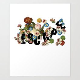 Floral Escape Art Print