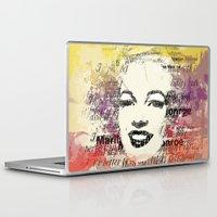 monroe Laptop & iPad Skins featuring MONROE by Smart Friend