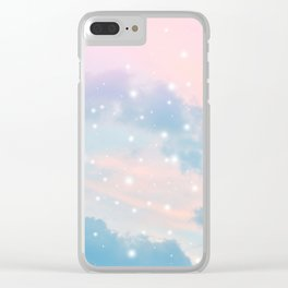 Pastel Cosmos Dream #2 #decor #art #society6 Clear iPhone Case