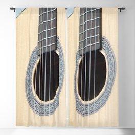 Classical Guitar Blackout Curtain