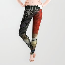 Just Be: Robin Red-Breast Leggings