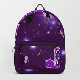 Power Purple For a Cure - Fairy Dust Backpack