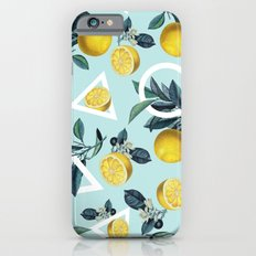 Geometric and Lemon pattern III Slim Case iPhone 6s