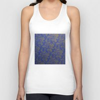 baroque Tank Tops featuring Baroque Rose by Azure Cricket