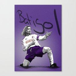 Gabriel Batistuta - Fiorentina Canvas Print