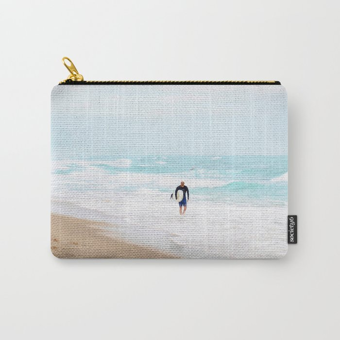 Surfer Defeat Carry-All Pouch