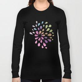 Colourful drops Long Sleeve T-shirt