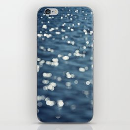 Water Sparkles Photography, Sparkly Ocean, Dark Sea Moonlight iPhone Skin