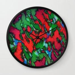 The sliding glass Wall Clock