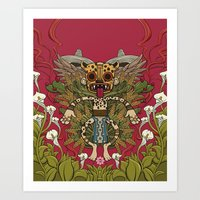 mexican Art Prints featuring Mexican by Joel Velasco
