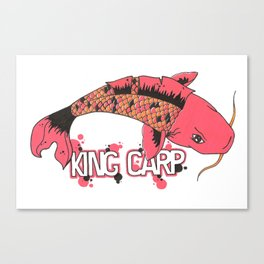 King Carpa  Canvas Print