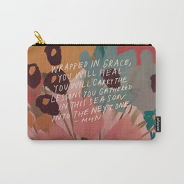 Wrapped in. grace Carry-All Pouch