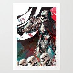 Captain Phasma Art Print