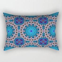Ficin - Flower mandalas F of Alphabet collection Rectangular Pillow