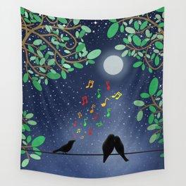 Moonlight Serenade Wall Tapestry