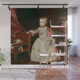 "Diego Velázquez ""Infant Philipp Prosper (Felipe Próspero)"" Wall Mural"