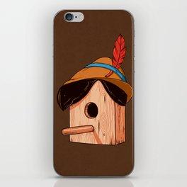 Woodpecker´s house iPhone Skin