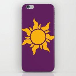 Tangled Rapunzel Sun Logo - Corona Symbol iPhone Skin