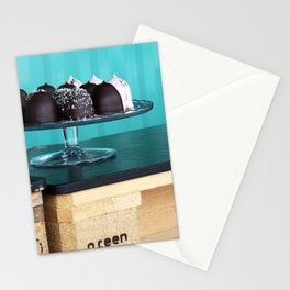 Sweets on a tray Stationery Cards