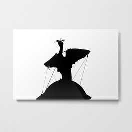 The Liver Bird Metal Print