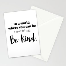 Be Kind Print Stationery Cards