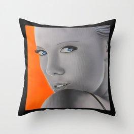 Charlize Theron Throw Pillow