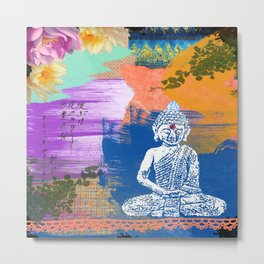 BUDDHA COLOR Metal Print
