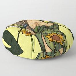 Queen of gluten/Goddess of harvest Floor Pillow