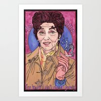 dot Art Prints featuring Dot by Easties Across the Pond
